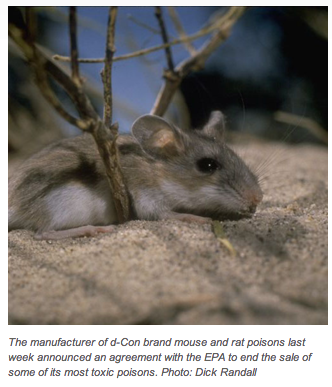 Putting a Societal Safety Cap on Animal Poisons
