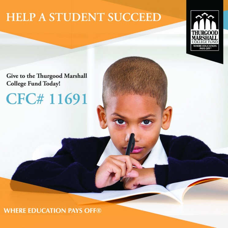 Thurgood Marshall College Fund workplace giving donations