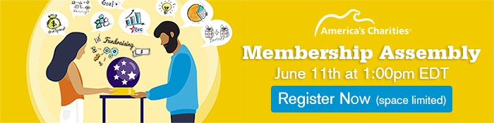 Register Now! Join America's Charities Online June 11th at 1pm EDT for Our Annual Membership Assembly
