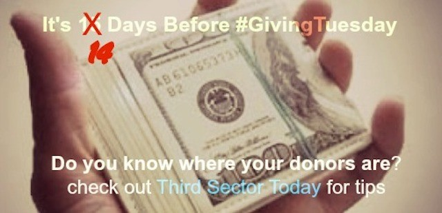 Giving Tuesday do you know where your donors are