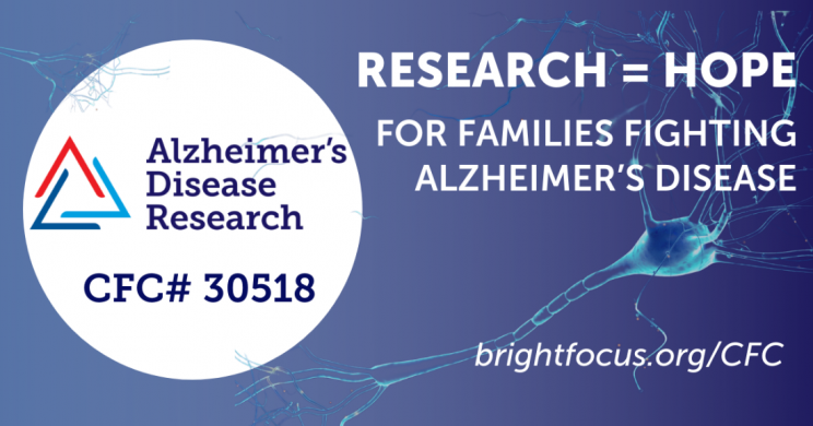 Alzheimer's Disease Research Early Supporter of New Alzheimer's Blood Test