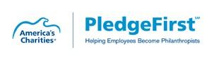 America's Charities Pledge First logo