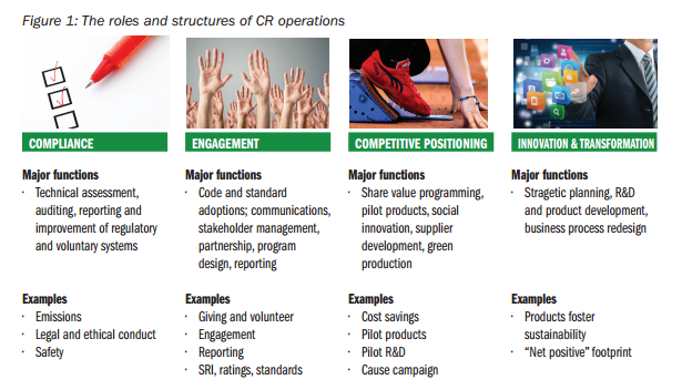 CSR Roles and Structures