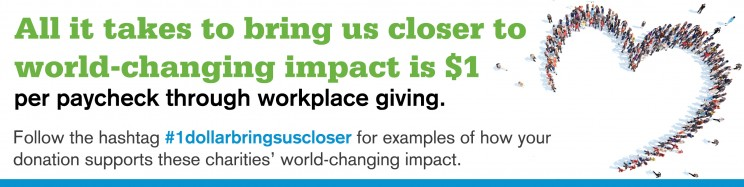 1 dollar brings us closer to world-changing impact through the CFC