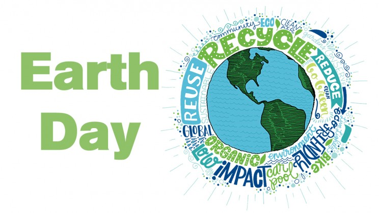 Earth Day - conservation, environmental protection, clean water, food waste