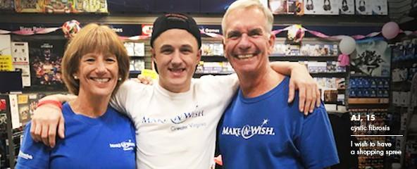 Make-A-Wish® Foundation of America Volunteers Backbone of Making Wishes Come True