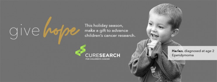 Give hope to every child fighting cancer this holiday season