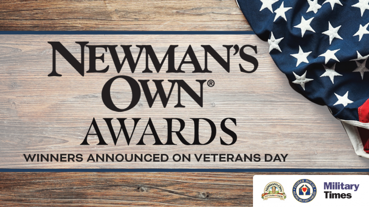 Newman's Own® Awards Ceremony to be broadcast on Nov. 11 on MilitaryTimes.com