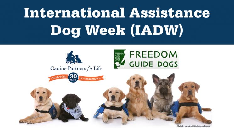 International Assistance Dog Week (IADW)