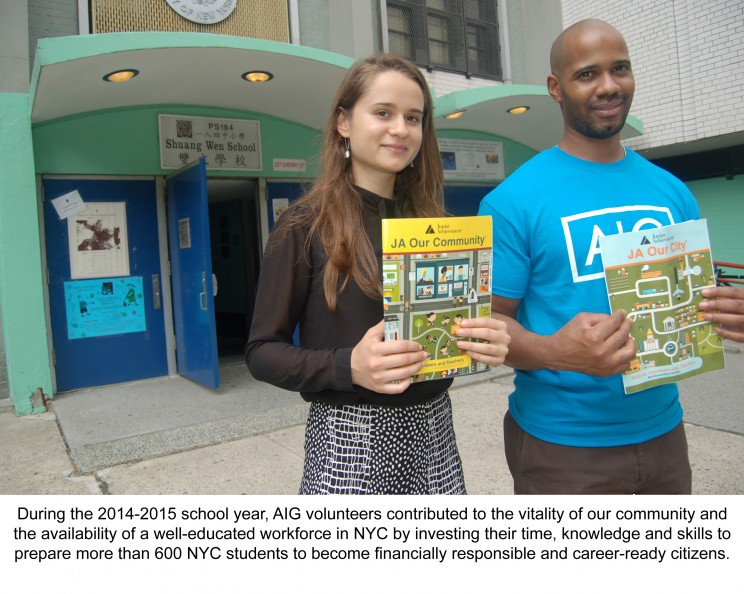 JA New York and AIG Employee Engagement