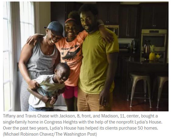 Lydia's House homebuyers
