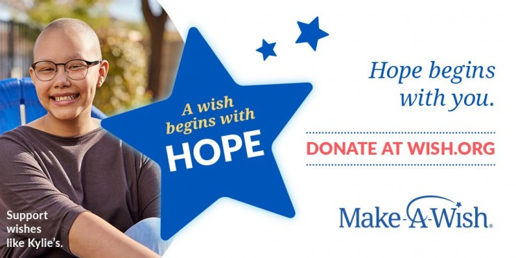 Make-A-Wish World Wish Day - April 29 - Help Make-A-Wish Deliver Hope to Children with Critical Illnesses