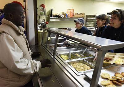 MLK serving food photo