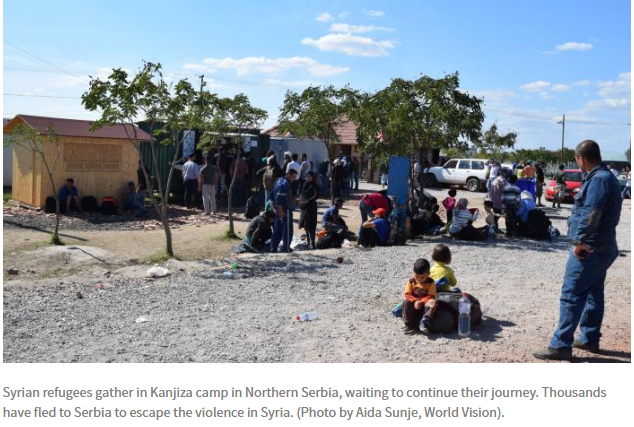 Support Refugee crisis