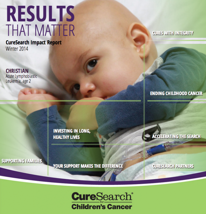 CureSearch Impact report 2014