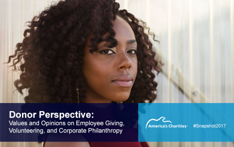 Snapshot 2017 Employee Giving and Engagement Donor Perspective