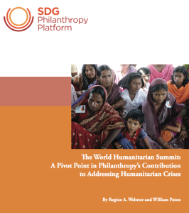 World Humanitarian Summit Report