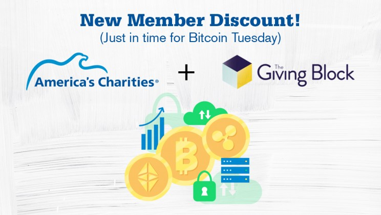 America's Charities and The Giving Block Partner On Cryptocurrency Donation Offering