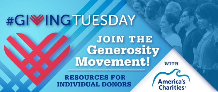Giving Tuesday: Join the Generosity Movement! Resources for Individual Donors