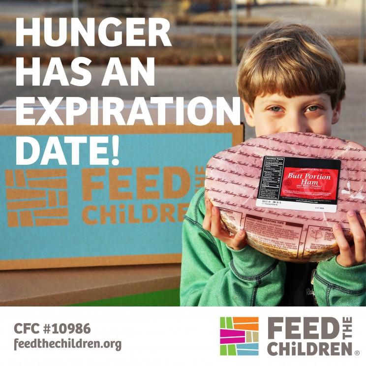 Hunger has an expiration date!