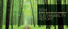2014 Boy Scouts of America Sustainability Report