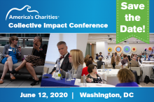 SAVE THE DATE: 2020 Collective Impact Conference presented by America's Charities