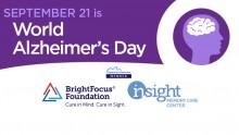 World Alzheimer's Day is September 21st