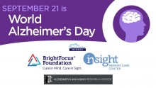 World Alzheimer's Day 2019