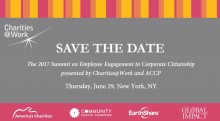 Charities@Work Summit on Employee Engagement in Corporate Citizenship