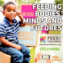 Feed the Children through Workplace Giving CFC