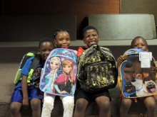 Kids helped by Lorton Community Action Center (LCAC)