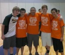 5 teen boys