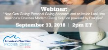 Webinar Presentation Overview of America's Charities Modern Giving Employer Workplace Solution