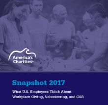 Snapshot 2017: What are employee donors really interested in?