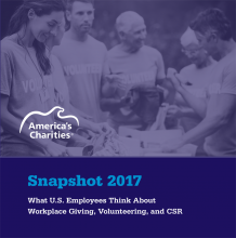 Snapshot 2017: What Employees Think about Workplace Giving, Volunteering, and CSR