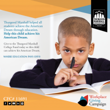 Thurgood Marshall Foundation Workplace Giving
