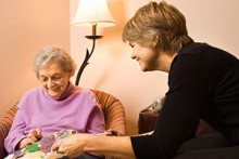 When a Parent Lives Alone and Has Alzheimer's: It Takes a Village