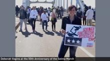 Deborah at 50th Anniversary of Selma March
