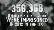356,368 Severely Mentally Ill People were Imprisoned in 2012 in the US