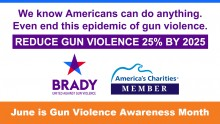 June is Gun Violence Awareness Month