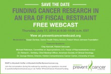 Webinar: Funding Cancer Research in an Era of Fiscal Restraint